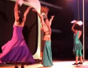 Majaretas en Etnosur circo